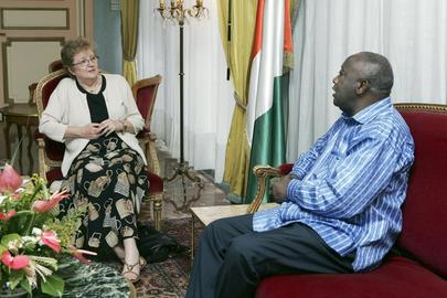 Deputy Secretary-General Meets with President of Côte d'Ivoire