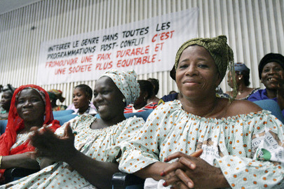 Women in Côte d'Ivoire Celebrate International Women's Day