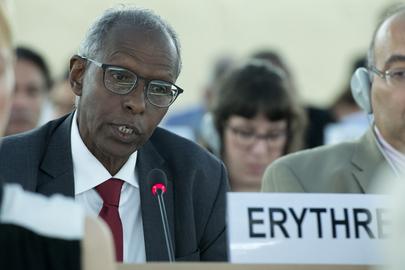 Representative of Eritrea Addresses Human Rights Council