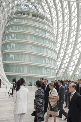 Secretary-General Visits Phoenix Satellite TV Headquarters, Beijing
