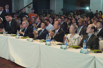 Secretary-General Attends Inaugural Xin Philanthropy Conference
