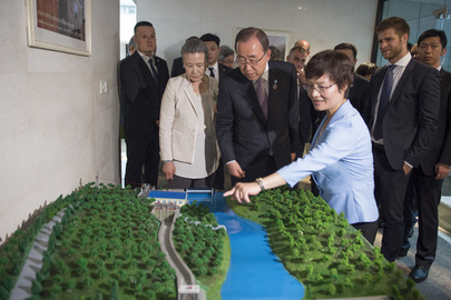 Secretary-General Visits International Centre of Small Hydro Power, Hangzhou