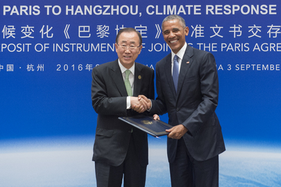 United States Ratifies Paris Climate Agreement