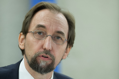 UN High Commissioner for Human Rights at Human Right Council Meeting
