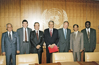 Secretary-General Meets with Executive Secretaries of the United Nations Regional Commissions and High Commissioner for Human Rights