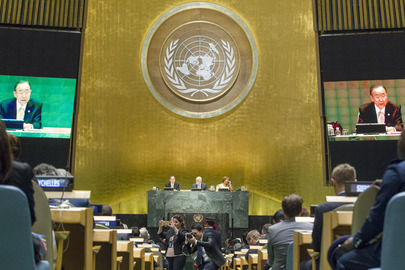 Opening of General Debate of General Assembly
