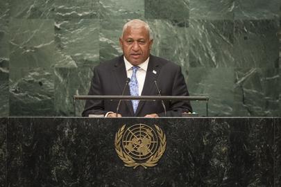 Prime Minister of Fiji Addresses General Assembly
