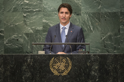 Prime Minister of Canada Addresses General Assembly