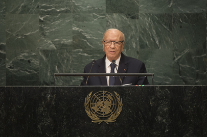 President of Tunisia Addresses General Assembly
