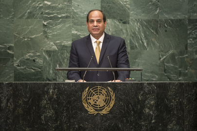 President of Egypt Addresses General Assembly