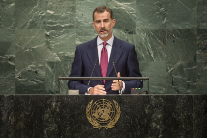 King of Spain Addresses General Assembly