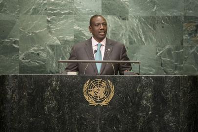 Deputy President of Kenya Addresses General Assembly