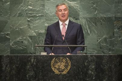 Prime Minister of Montenegro Addresses General Assembly