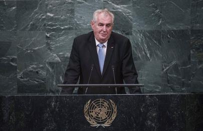 President of Czech Republic Addresses General Assembly