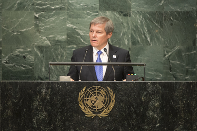 Prime Minister of Romania Addresses General Assembly