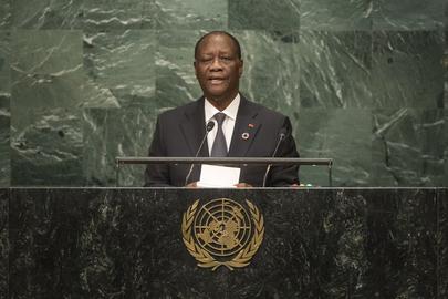 President of Côte d'Ivoire Addresses General Assembly