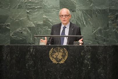 Prime Minister Monaco Addresses General Assembly