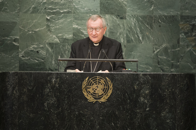 Secretary of State of Holy See Addresses General Assembly