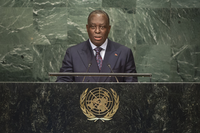 Vice President of Angola Addresses General Assembly