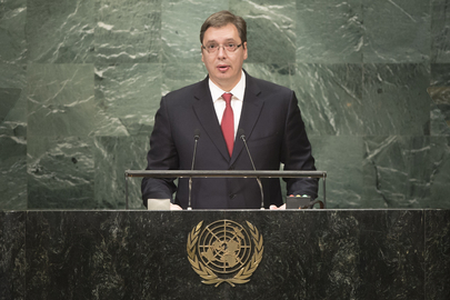 Prime Minister of Serbia Addresses General Assembly