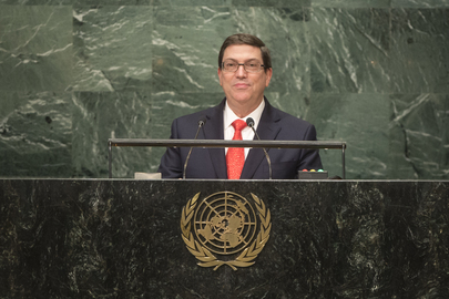 Foreign Minister of Cuba Addresses General Assembly