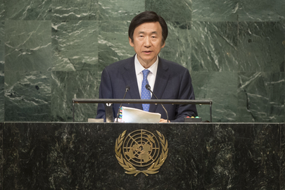Foreign Minister of Republic of Korea Addresses General Assembly