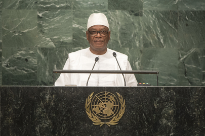 President of Mali Addresses General Assembly