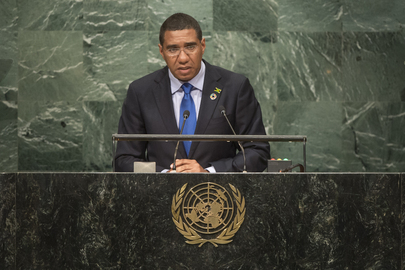 Prime Minister of Jamaica Addresses General Assembly