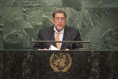 Prime Minister of Saint Vincent and Grenadines Addresses General Assembly