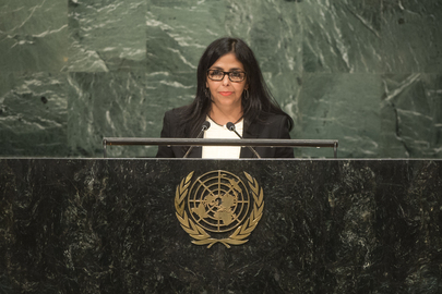 Foreign Minister of Venezuela Addresses General Assembly