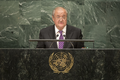 Foreign Minister of Uzbekistan Addresses General Assembly