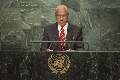 Prime Minister of Tonga Addresses General Assembly