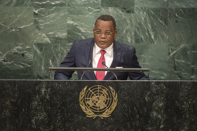Foreign Minister of Republic of Congo Addresses General Assembly