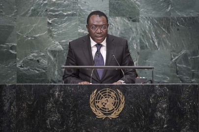 Representative of Togo Addresses General Assembly
