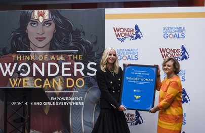 Wonder Woman named UN Ambassador for Empowerment of Women and Girls