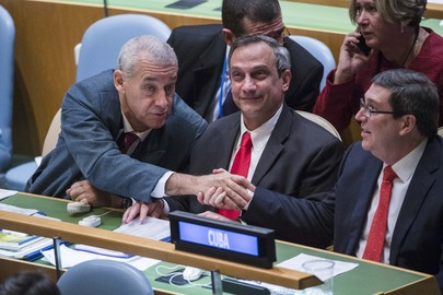 General Assembly's 32nd Plenary on Financial Embargo Against Cuba
