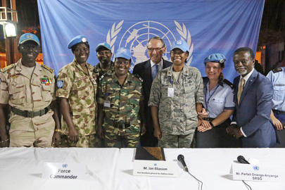 Deputy Secretary-General Visits Central African Republic