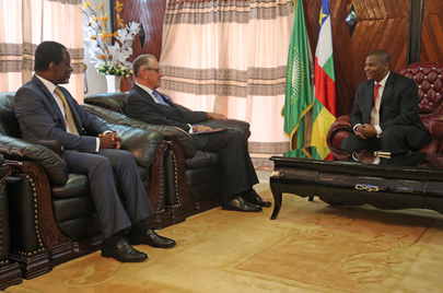Deputy Secretary-General Meets President of Central African Republic