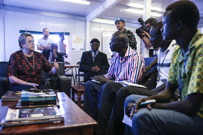 Special Representative of Secretary General for South Sudan Visits Rumbek