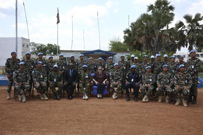 Special Representative of Secretary General for South Sudan Visits Rumbek