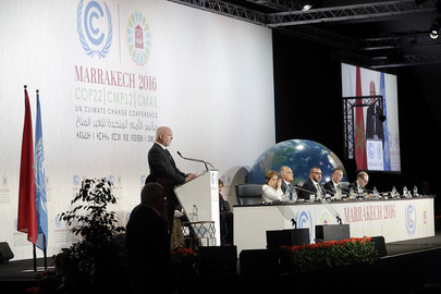 General Assembly President Addresses COP22 in Marrakesh, Morocco