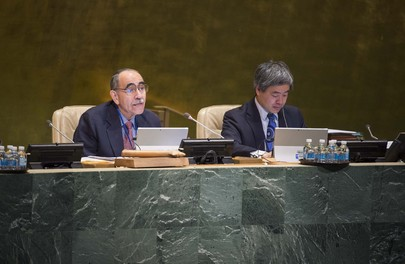 Assembly Considers Strengthening UN System, Follow-up to Major UN Conferences