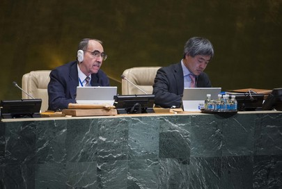 Assembly Considers UN Role in Promoting New Global Human Order