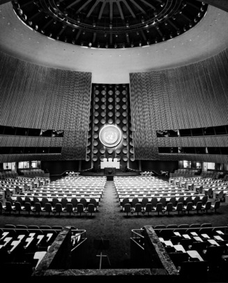 The United Nations General Assembly Building