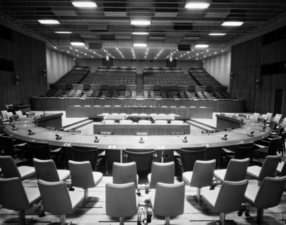 The Trusteeship Council Chamber at UN Headquarters