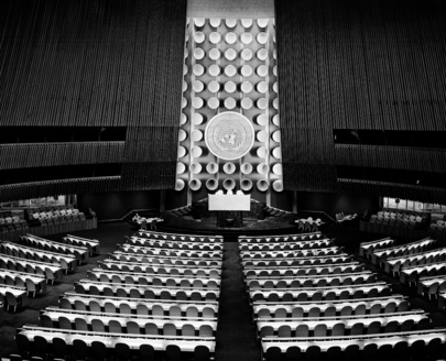 General Assembly Hall at United Nations Headquarters
