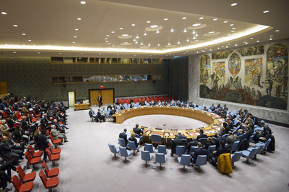 Security Council Considers Situation in Middle East, Including Palestinian Question