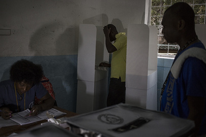 Haiti Holds Presidential Elections