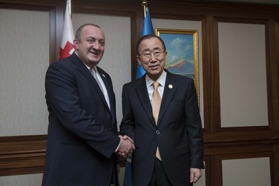 Secretary-General Meets President of Georgia
