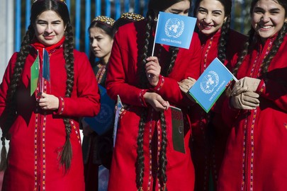 Opening of New United Nations House in Ashgabat